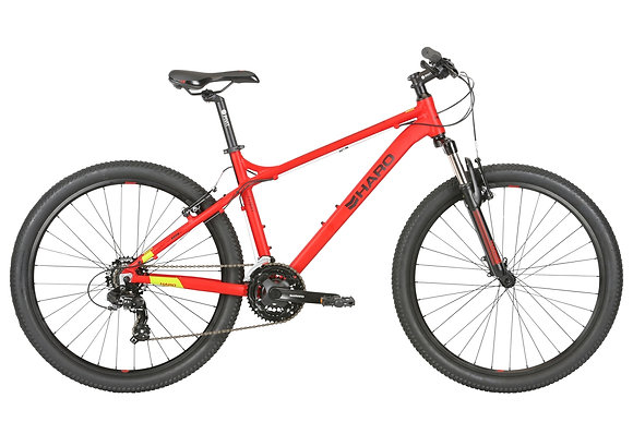 2019 HARO FLIGHTLINE 1 MOUNTAIN BIKE RED SIZE 21""