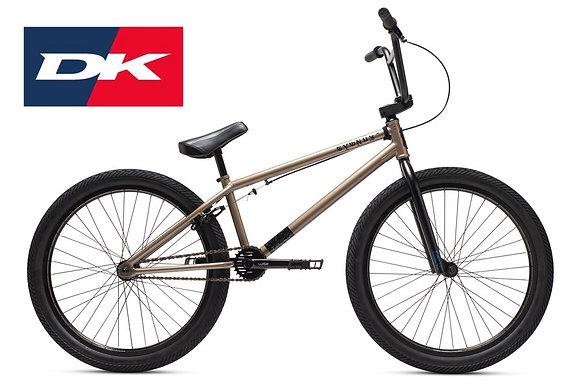 2021 DK CYGUS 24  STREET BICYCLE - ZINC