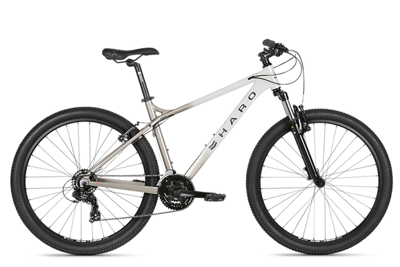 2021 HARO FLIGHTLINE ONE 27.5 MOUNTAIN BIKE - WHITE/SILVER