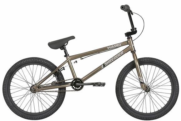 "2019 Haro Shredder 20"" Pro BMX Bike Pewter"