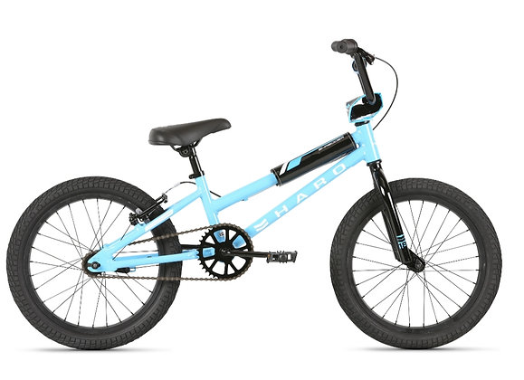 2021 HARO Shredder 20 Girls Bicycle Light Blue