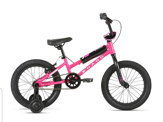 2021 HARO Shredder 16 Girls Bicycle Pink