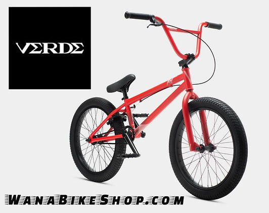 VERDE A/V BMX STREET BICYCLE RED