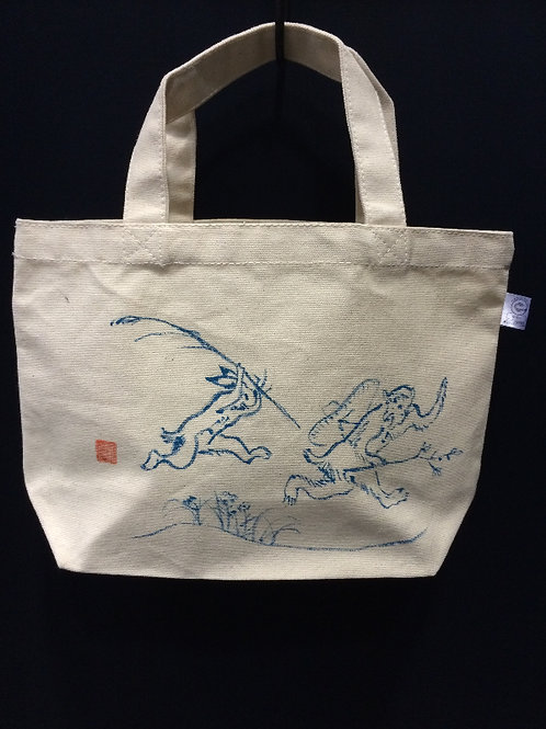 鳥獣戯画トート スモール