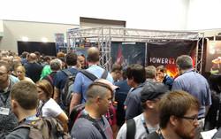 9 BETA Game test at Gen Con