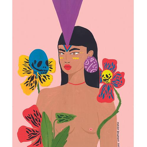 """Print com ilustração - """"Ancestrais"""""""