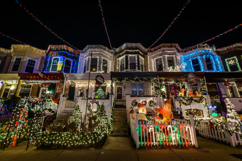 christmas lights in hampden baltimore on 34th street - Hampden Christmas Lights