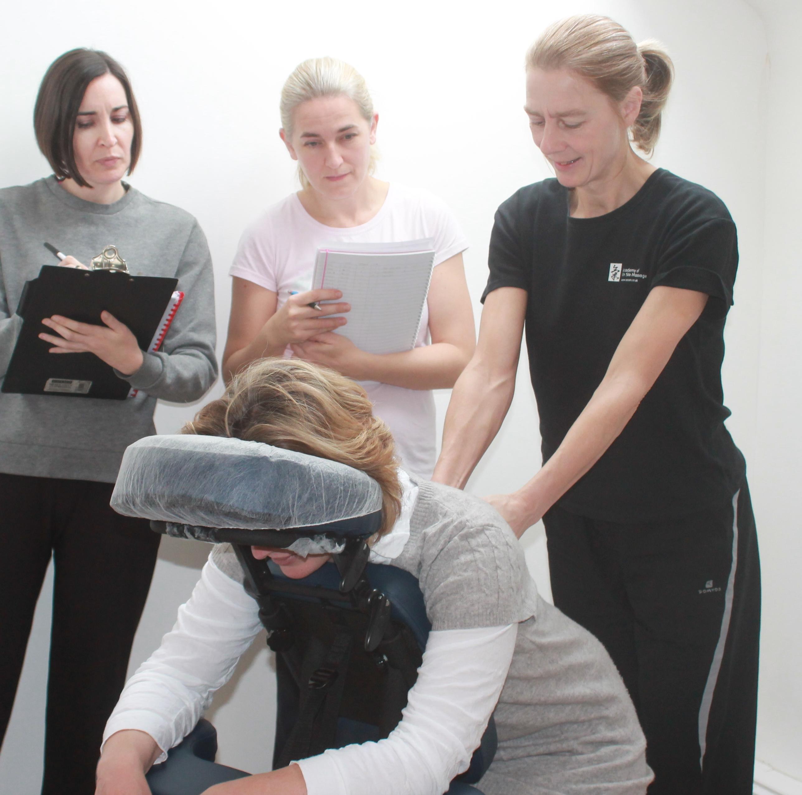 Seated Acupressure Massage Training Cour