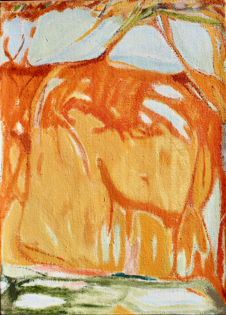 Oil on canvas 58x40 cm 2020