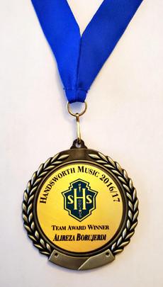 Music Team Award-2016_17