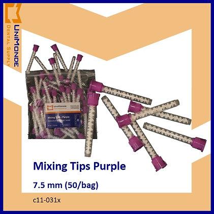 Mixing Tips Purple 7.5 mm