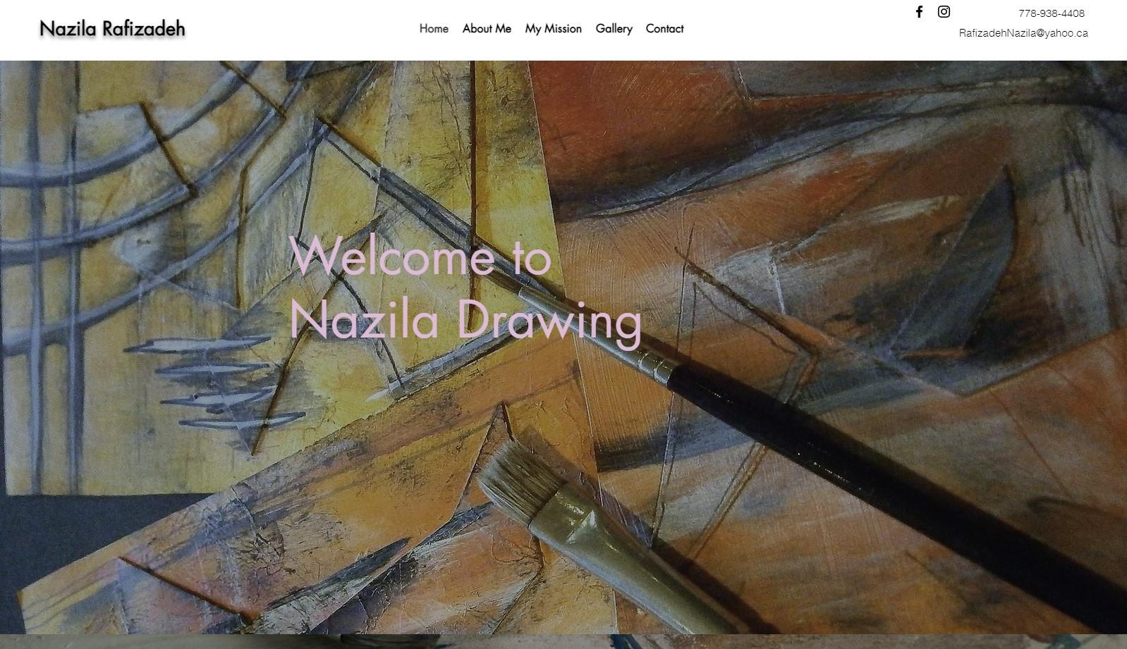 Nazila Rafizadeh Drawing