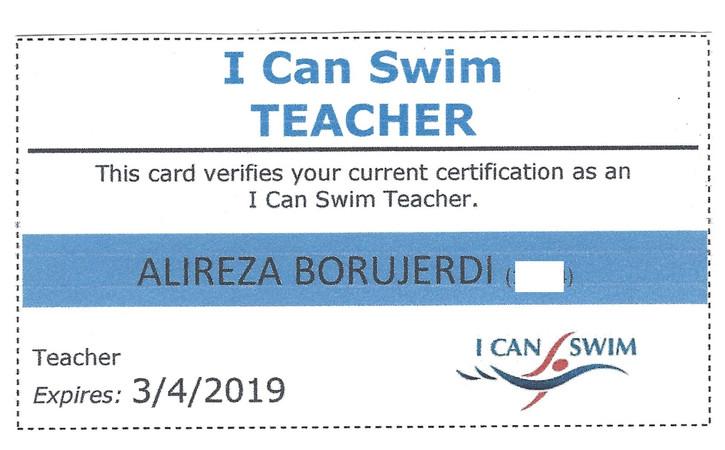 I Can Swim Teacher