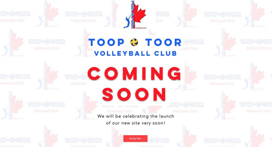 Toop-O-Toor Landing Page