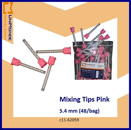 Mixing Tips Pink 5.4mm