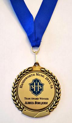 Music Team Award-2015_16
