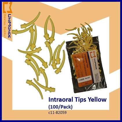 Intraoral Tips Yellow  Small