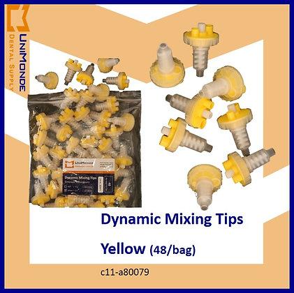 Dynamic Mixing Tips Yellow