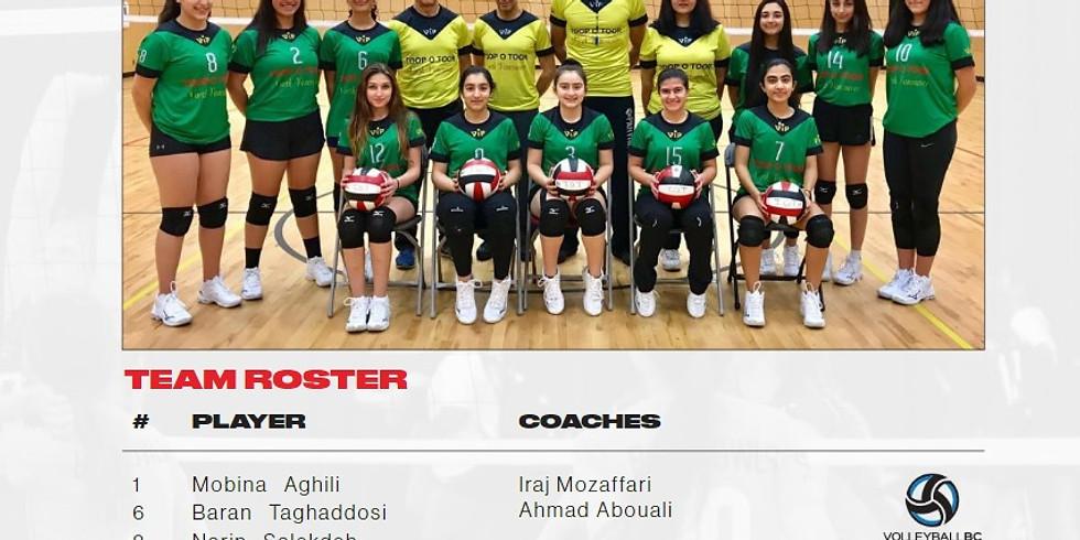 2019 Volleyball BC 15U Girls Club Provincial Championships