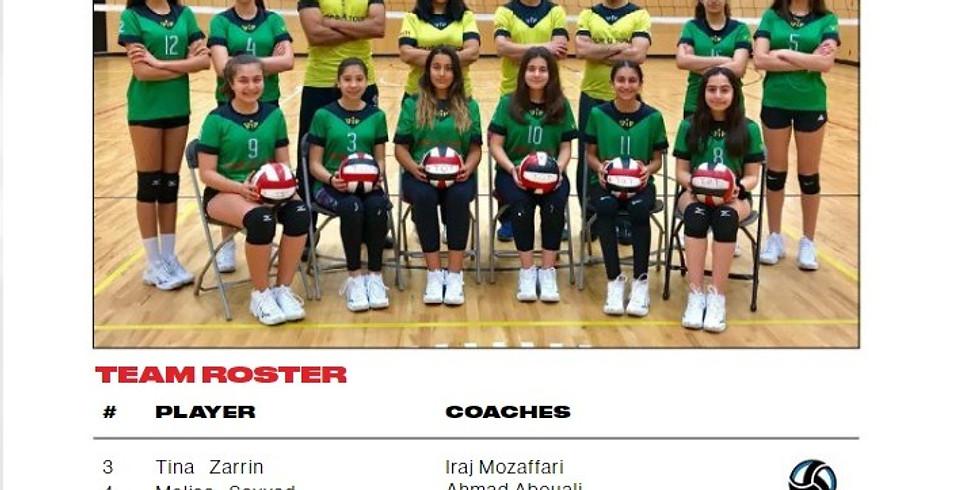 2019 Volleyball BC 13U Girls Club Provincial Championships