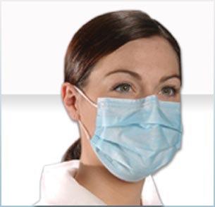 Earloop Procedure Masks - Green