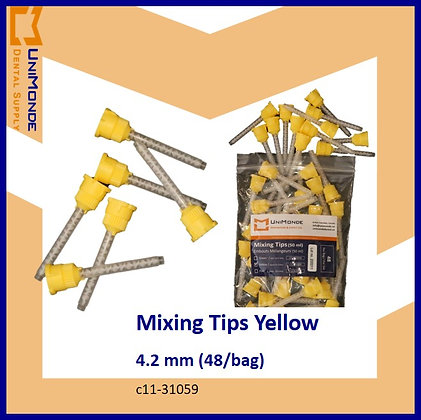 Mixing Tips Yellow 4.2mm