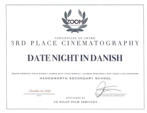 Cinematography-Zoom Fest