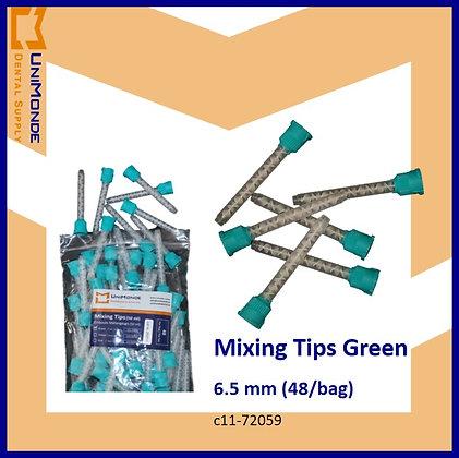 Mixing Tips Green 6.5mm