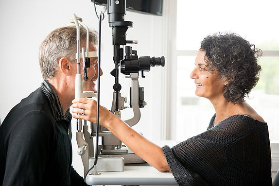 Anne and Paul at slit lamp.jpg