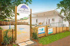 Jacaranda Medical Centre Alstonville clinic rear entrance
