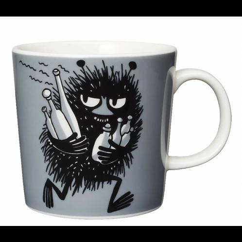 Moomin mug, Stinky, Moomin mug front view