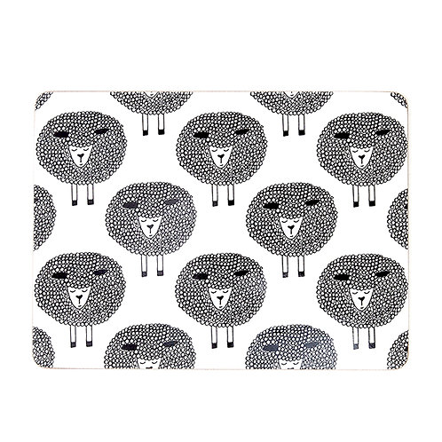 Snoozy Sheep Placemats Set 4