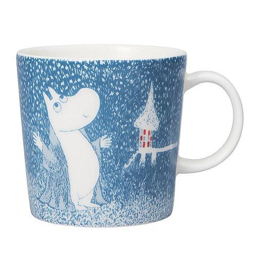 Moomin 2018 Limited edition mug- Light Snowfall