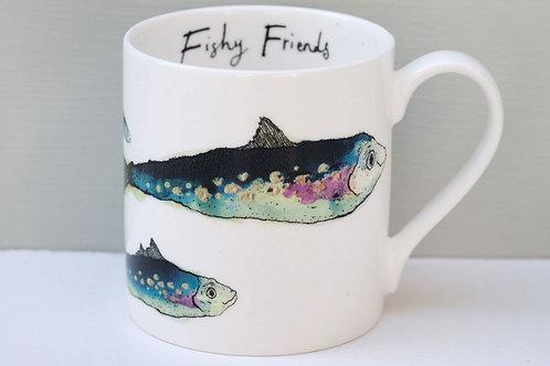 """""""Fishy Friends""""  Mug"""