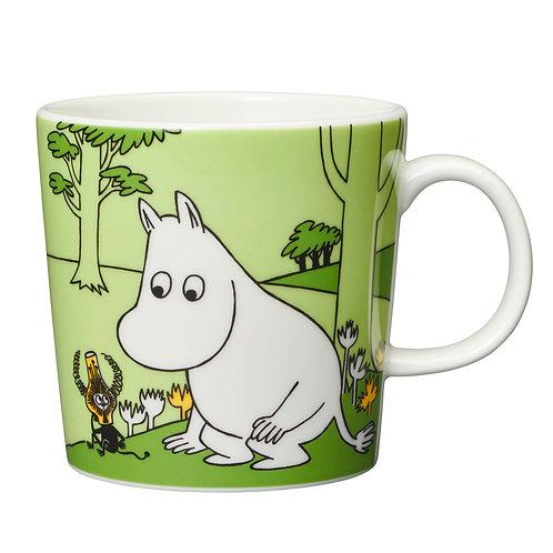 Moomintroll Green Mug