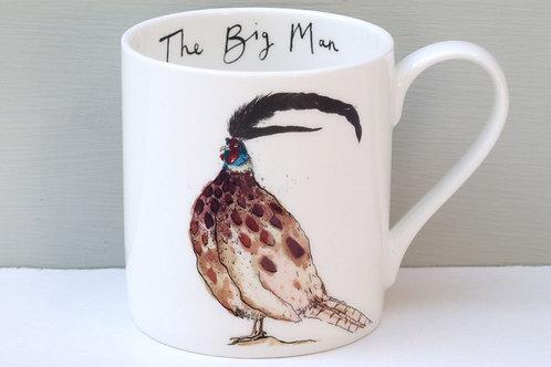 """The Big Man""   Mug"