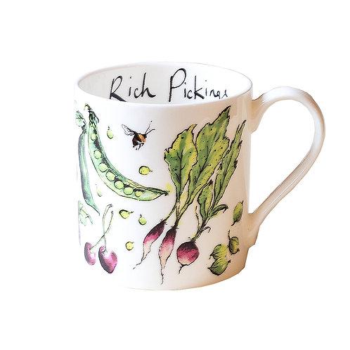 """Rich Pickings""   Mug"