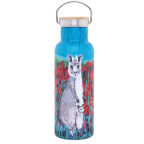 Insulated S/S Bottle - Kangaroo