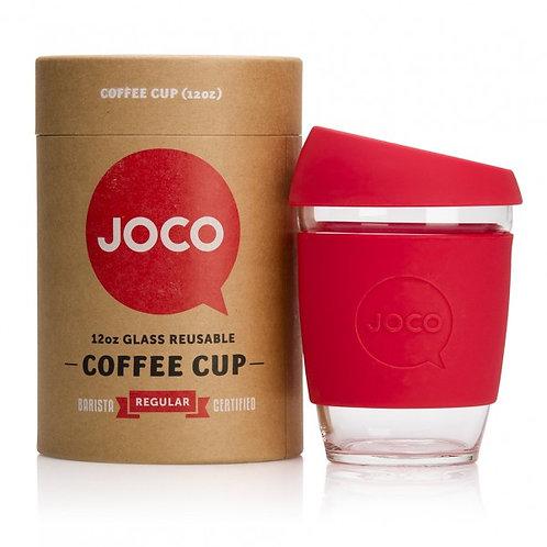 Joco 12oz coffee cup - red