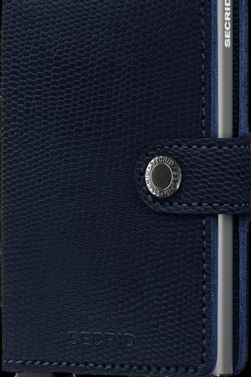 Secrid Mini Wallet - Rango Blue Titanium