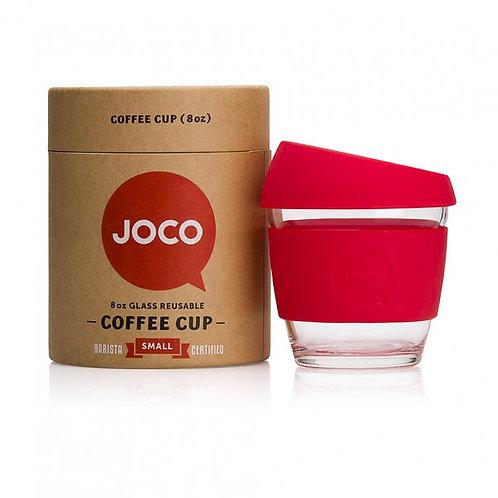 Joco 8oz coffee cup - red