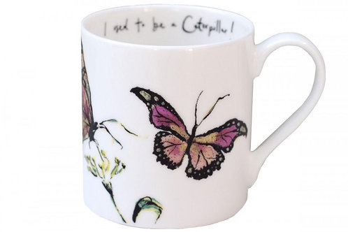 """I Used to be a Caterpillar"" Mug"