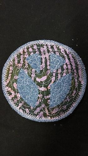 Peace Patch-Purple