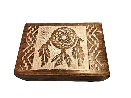 Dreamcatcher Wooden Box