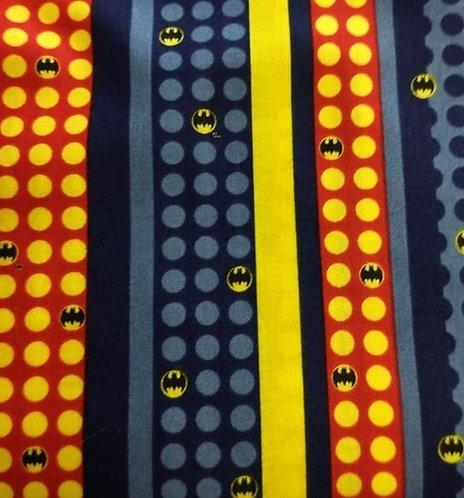 Batman with Stripes-Camalot Fabric
