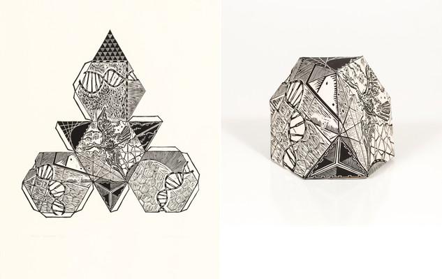 2D and 2D Truncated Tetrahedron: Cygnus