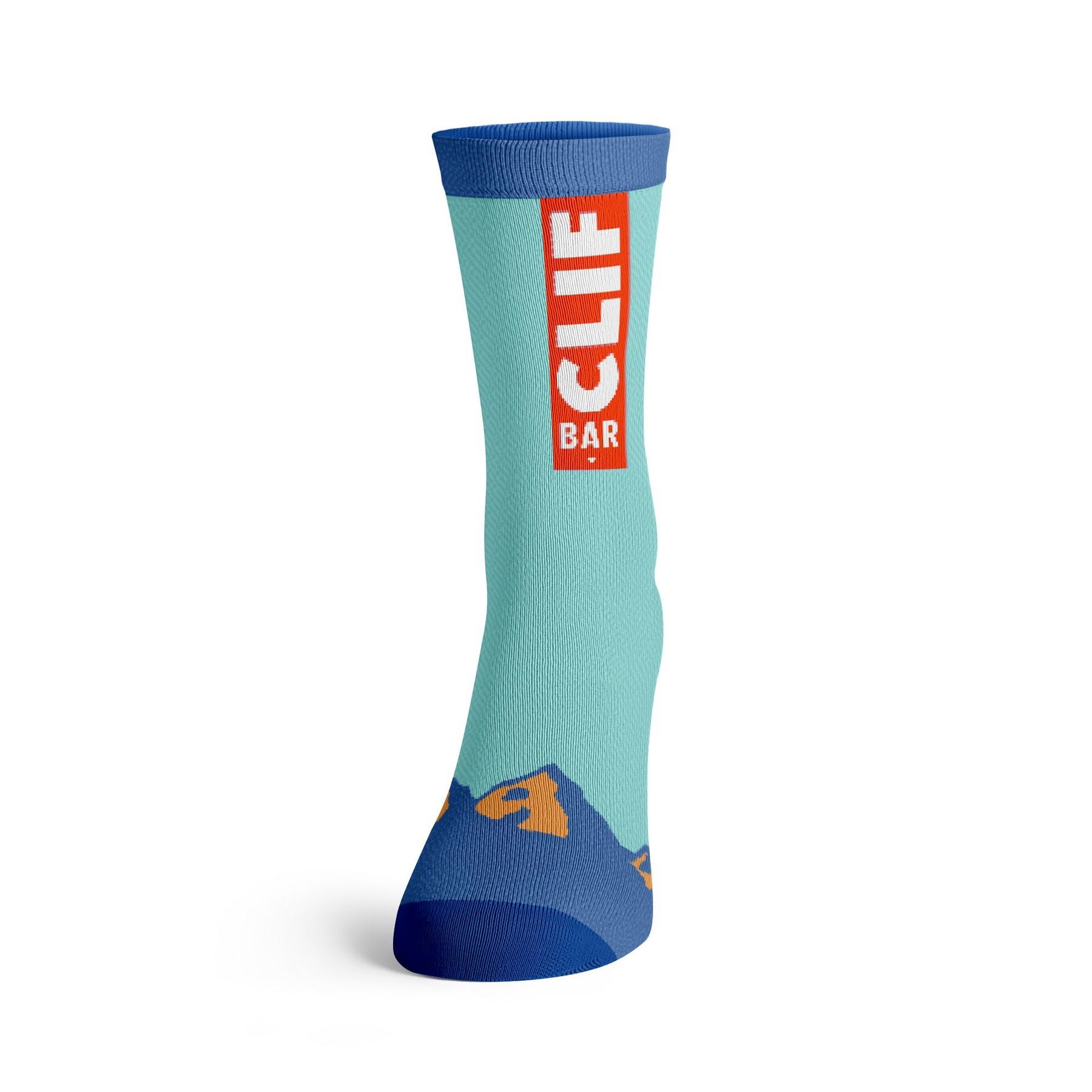 Antimicrobial Jacquard Socks