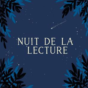 Nuit de la lecture!