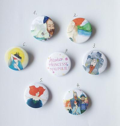 Badges illustrés