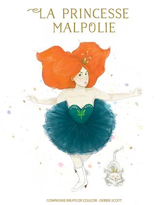 """Conte illustré """"La Princesse Malpolie"""""""